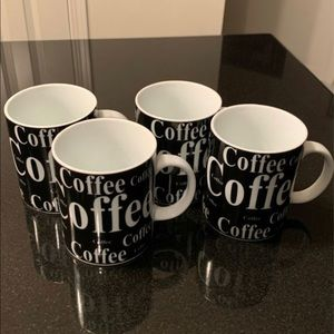 Coffee mugs (set of 4)